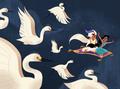 unbelievable sights by elsa chang - disney fan art