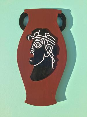 vase slap দ্বারা the wooden নায়ক