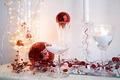 wineglass decorations - christmas photo