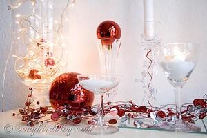 wineglass decorations