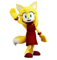 zooey the fox renders sonic boom