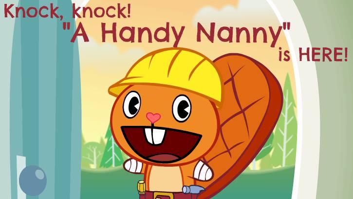 """""""A Handy Nanny""""."""