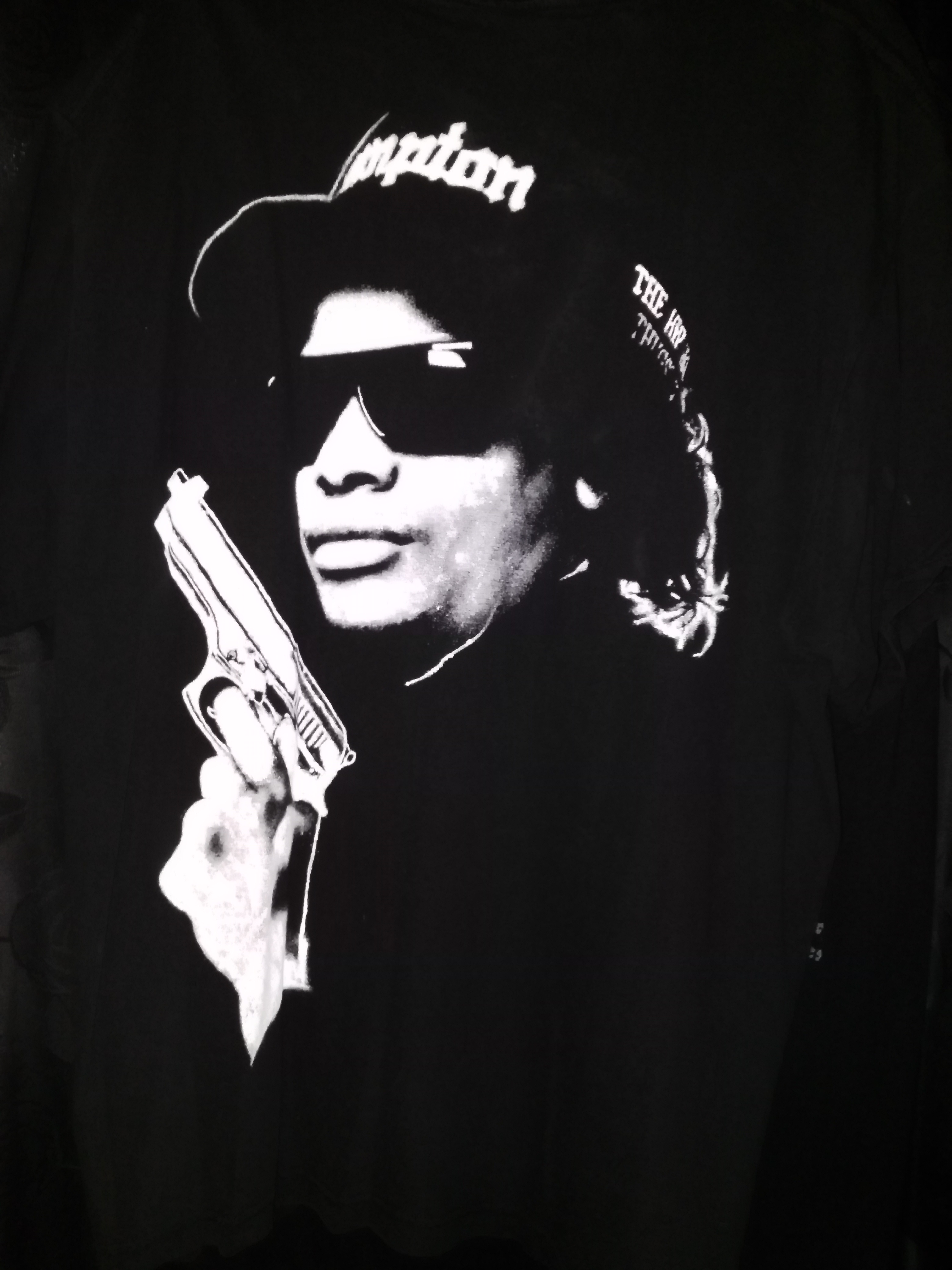 Eazy E 187 T Shirt Eazye187 Wallpaper 40197512 Fanpop