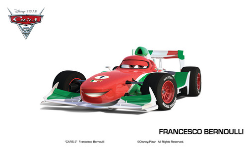 Disney Pixar Cars Hintergrund entitled Francesco Bernoulli