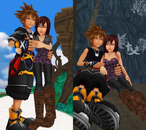 Sora and Kairi are True Couple Forever