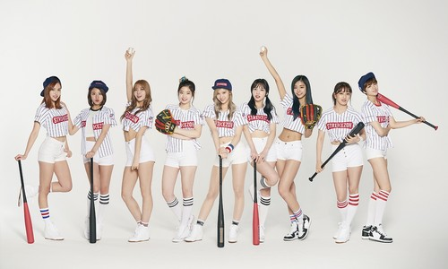 Twice (JYP Ent) achtergrond called TWICE