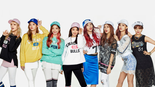 Twice (JYP Ent) wallpaper titled TWICE