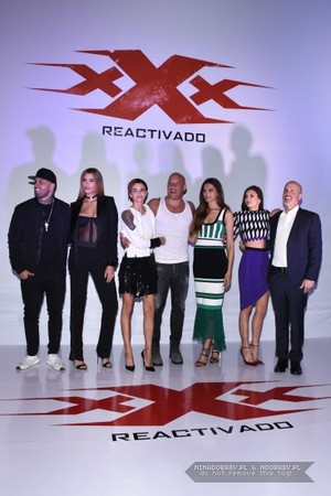 """""""XXX: The Return of Xander Cage"""" photocall in Mexico City (January 5th)"""
