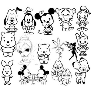Walt Disney fan Art - Walt Disney Characters