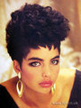 1987 afro curls - the-80s photo