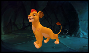 3d kion from the lion gaurd