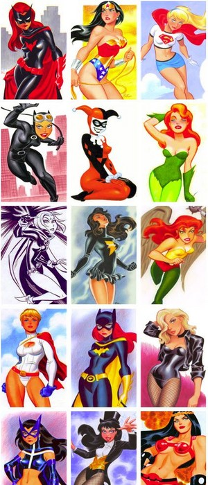 Women of The DC Universe