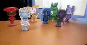 7 Kings Papercraft