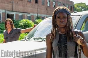7x09 ~ Rock in the Road ~ Michonne & Daryl