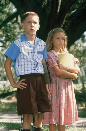 A young Forrest and Jenny