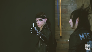 APTV Behind The Scenes of The BLACK VEIL BRIDES Cover Shoot