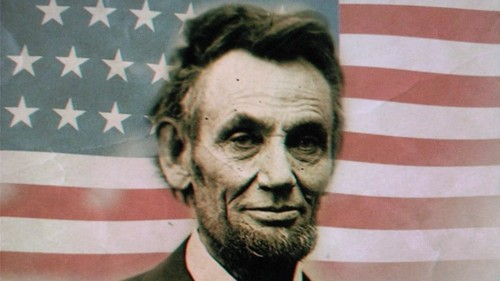 U.S. Republican Party Hintergrund titled Abraham lincoln