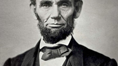 U.S. Republican Party Hintergrund entitled Abraham lincoln