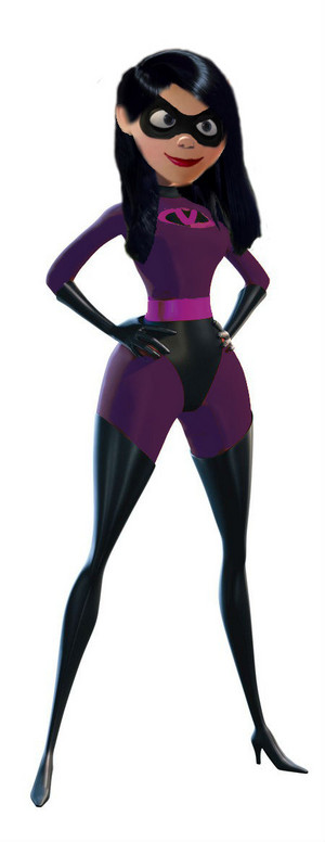 Adult violet Parr (The Incredibles)