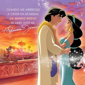 Aladin and Princess jasmin