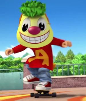 Alvin's Mask