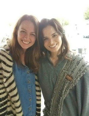 Amy Acker and Katrina Law