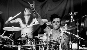 Andy Biersack and Christian Coma