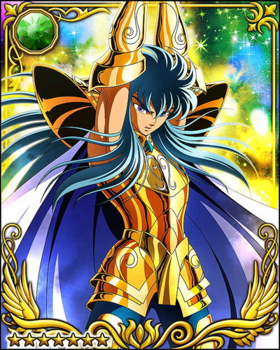 Saint Seiya (Knights Of The Zodiac) Gambar Aquarius Camus