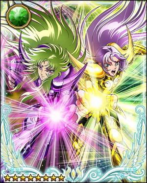 Aries Mu and Shion