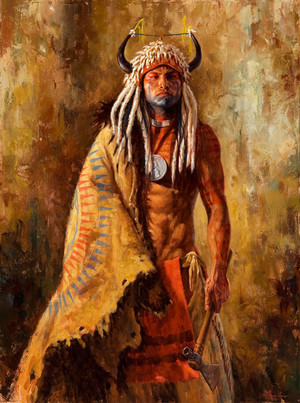 Arikara Peacemaker (Arikara warrior) sejak James Ayers
