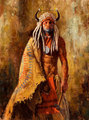 Arikara Peacemaker (Arikara warrior) by James Ayers