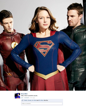 Arrowverse on Facebook! ;)