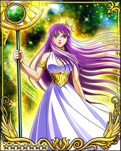 Saint Seiya (Knights of the Zodiac) Hintergrund entitled Athena