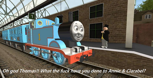 Autistic Thomas Meme