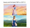 BATB 1991 and 2017 - beauty-and-the-beast-2017 photo