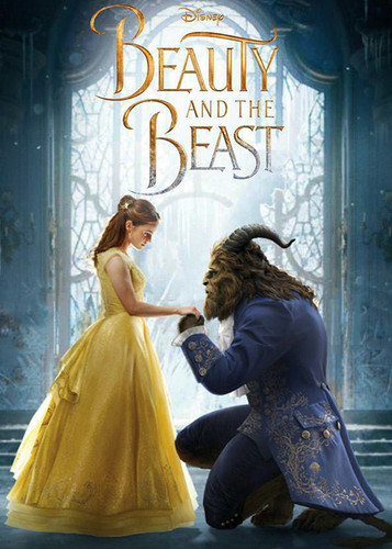 Beauty and the Beast (2017) karatasi la kupamba ukuta called BATB