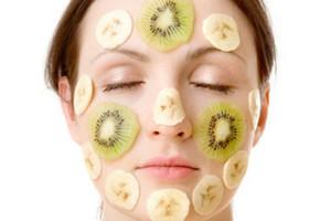 banana and Kiwi Face Mask