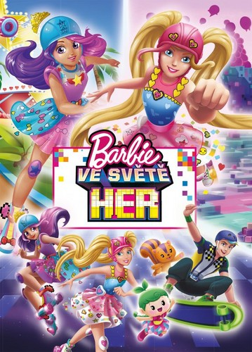 Filem Barbie kertas dinding titled Barbie Video Game Hero Czech Book