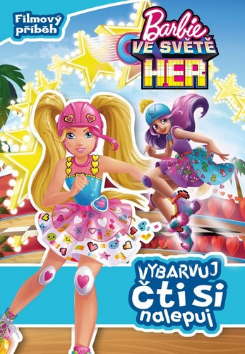 Filem Barbie kertas dinding entitled Barbie Video Game Hero Czech Book