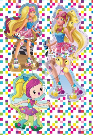 Barbie Video Game Hero Slovak Activity Book
