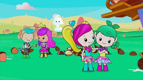 Sinema za Barbie karatasi la kupamba ukuta titled Barbie: Video Game Hero