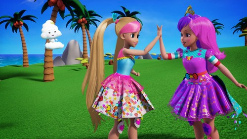 Barbie فلمیں پیپر وال entitled Barbie: Video Game Hero
