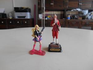 Barbie e Wolfgang Amadeus Mozart