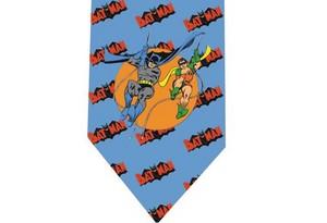 Batman tie 5 detail