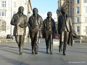 Beatles Monument, Liverpool
