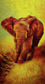 Beautiful Elephant Artwork