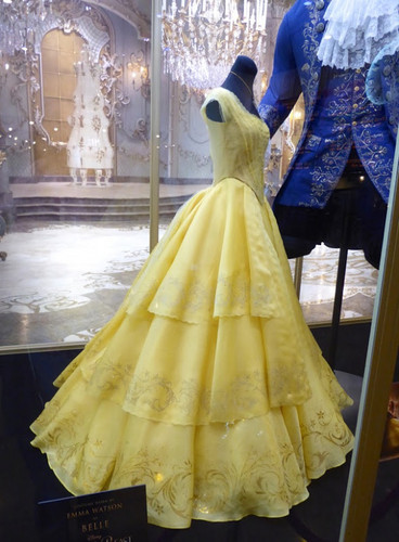 Beauty and the Beast (2017) achtergrond called Beauty and the Beast 2017 Belle's costume