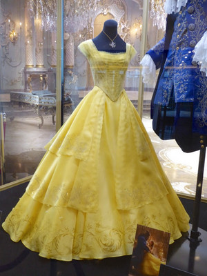 Beauty and the Beast 2017 Belle's costume