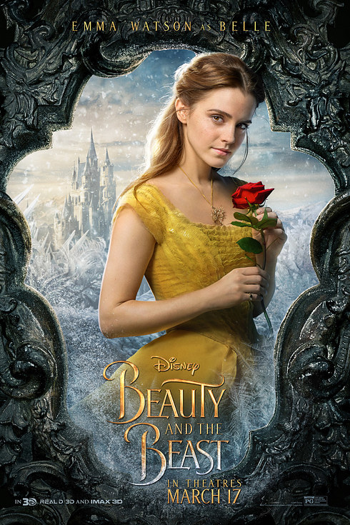 Beauty and the Beast (2017) Character Poster - Belle