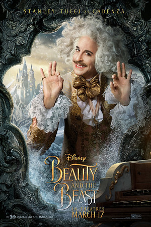 Beauty and the Beast (2017) Character Poster - Cadenza